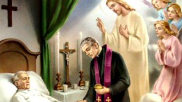 Matrimonio Catolico Homilia : Unción de los enfermos un sacramento vivos